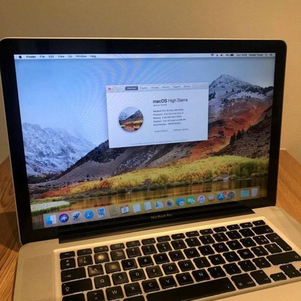 """MacBook Pro 15"""" 2"""