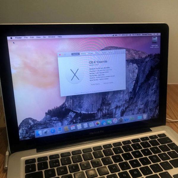 """MacBook Pro 13"""" 4"""
