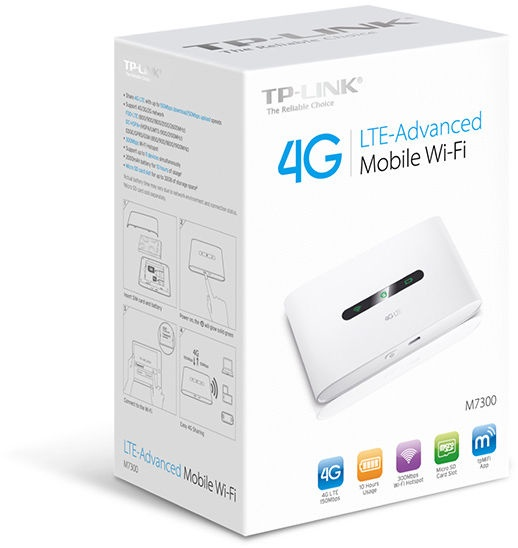 Mobile Wi-Fi ruuter TP-Link M7300 4G 1