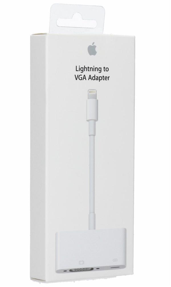 Apple Lightning to VGA adapter 1