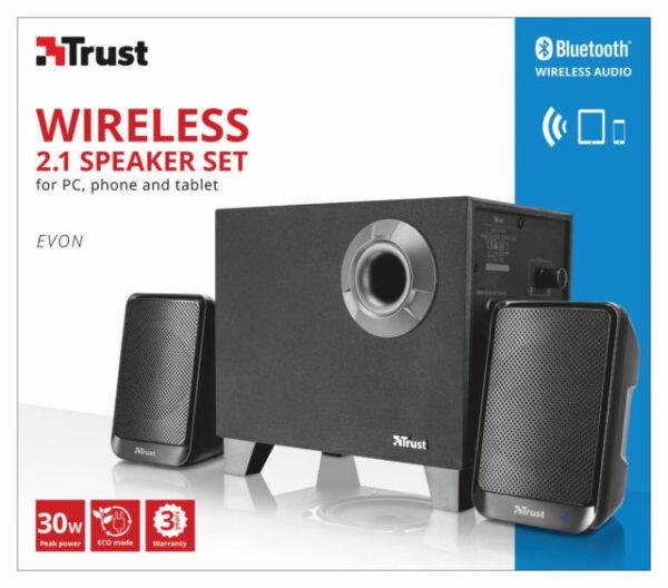 Speaker set 2.1 Trust Evon Wireless 2